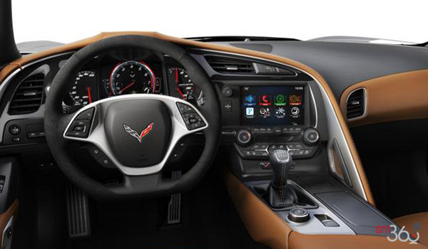 2018 Chevrolet Corvette Convertible Stingray 2LT | Photo 3 | Kalahari Competition Sport buckets Leather seating surfaces with sueded microfiber inserts (344-AE4)