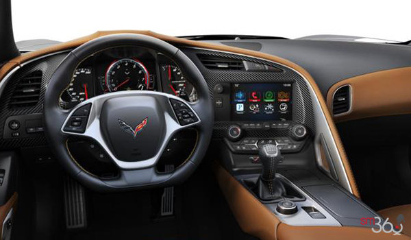 2018 Chevrolet Corvette Convertible Stingray 2LT | Photo 3 | Kalahari Competition Sport buckets Perforated Mulan leather seating surfaces (343-AE4)