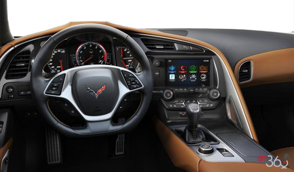 2018 Chevrolet Corvette Coupe Stingray 3LT | Photo 3 | Kalahari Competition Sport buckets Perforated Mulan leather seating surfaces (345-AE4)