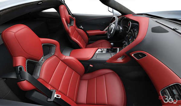 2018 Chevrolet Corvette Coupe Stingray 3LT | Photo 1 | Adrenaline Red Competition Sport buckets Perforated Mulan leather seating surfaces (705-AE4)