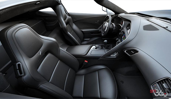 2018 Chevrolet Corvette Coupe Stingray Z51 1LT | Photo 1 | Jet Black GT buckets Perforated Mulan leather seating surfaces (191-AQ9)