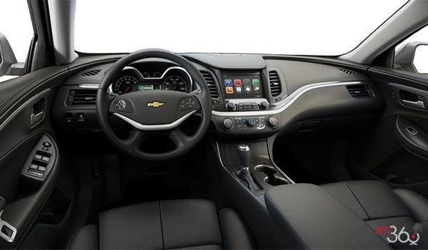 2018 Chevrolet Impala 1LT | Photo 3 | Jet Black Leather (H1Y-A51)