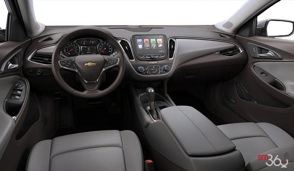 2018 Chevrolet Malibu LT | Photo 3 | Dark Atmosphere/Medium Ash Grey Leather