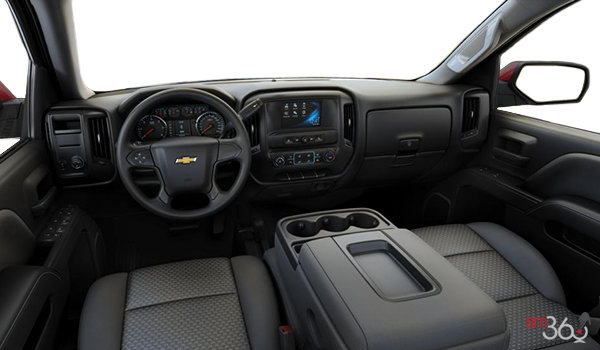 2018 Chevrolet Silverado 1500 CUSTOM | Photo 3 | Dark Ash/Jet Black Cloth (AE7-H2R)