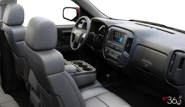 2018 Chevrolet Silverado 1500 LS   Photo 1   Dark Ash/Jet Black Cloth (AE7-H2R)