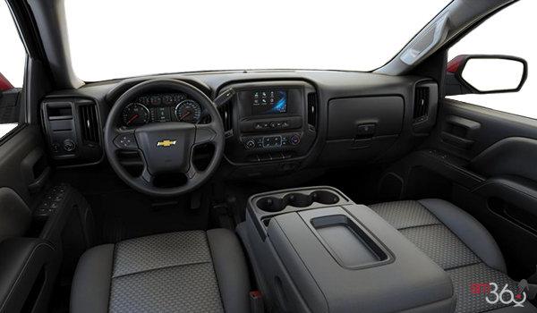 2018 Chevrolet Silverado 1500 LS   Photo 3   Dark Ash/Jet Black Cloth (AE7-H2R)
