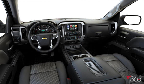 2018 Chevrolet Silverado 1500 LT 1LT   Photo 3   Dark Ash/Jet Black Bucket seats Cloth (A95-H2S)
