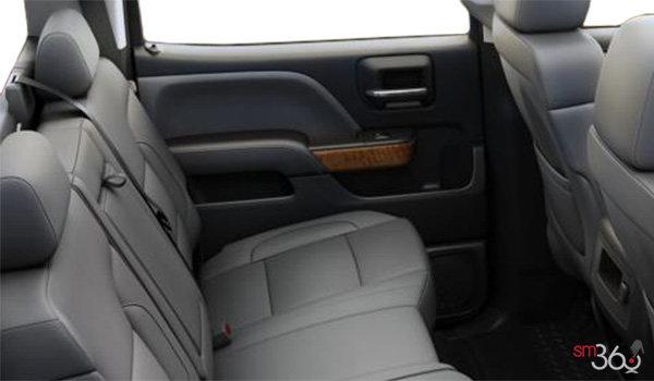 2018 Chevrolet Silverado 1500 LTZ 1LZ   Photo 2   Dark Ash/Jet Black Bucket seats Perforated Leather  (AN3-H3C)