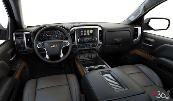 2018 Chevrolet Silverado 1500 LTZ 1LZ   Photo 3   Dark Ash/Jet Black Bucket seats Leather (AN3-H2V)