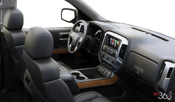 2018 Chevrolet Silverado 1500 LTZ 1LZ   Photo 1   Jet Black Bucket seats Leather (AN3-H2U)