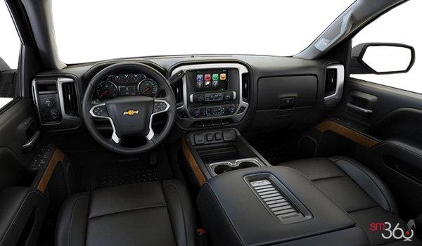 2018 Chevrolet Silverado 1500 LTZ 1LZ   Photo 3   Jet Black Bucket seats Perforated Leather (AN3-H3B)