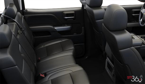 2018 Chevrolet Silverado 2500HD LT | Photo 2 | Jet Black Leather (AZ3-H1Y)