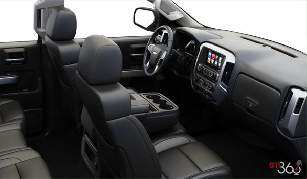 2018 Chevrolet Silverado 2500HD LT | Photo 1 | Jet Black Leather (AZ3-H1Y)