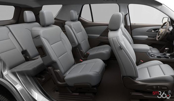 2018 Chevrolet Traverse PREMIER   Photo 2   Dark Atmosphere/Medium Ash Grey Perforated Leather