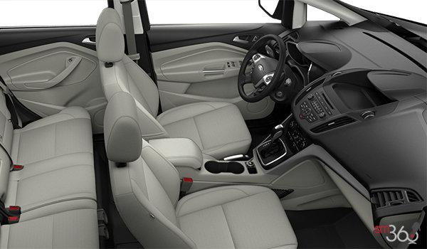 2018 Ford C-MAX HYBRID SE | Photo 1 | Medium Light Stone Cloth (KL)
