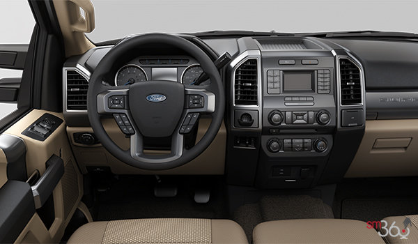 2018 Ford Chassis Cab F-550 XLT | Photo 3 | Camel Cloth Split Bench (3A)