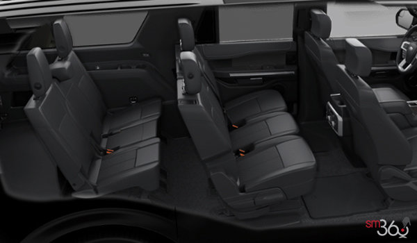 2018 Ford Expedition LIMITED MAX | Photo 2 | Ebony Leather (EH)