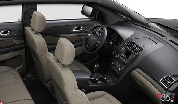 2018 Ford Explorer BASE | Photo 1 | Medium Stone Cloth (7L)