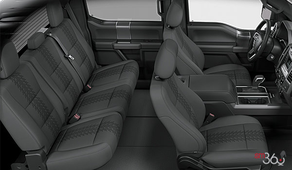 2018 Ford F-150 XLT   Photo 2   Black Sport Cloth Buckets Seats (FB)