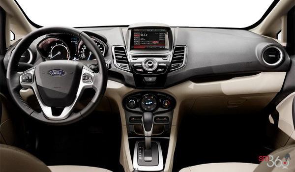 2018 Ford Fiesta Hatchback TITANIUM | Photo 3 | Medium Light Stone Leather (DS)