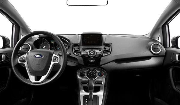 2018 Ford Fiesta Sedan SE | Photo 3 | Charcoal Black Unique Cloth Bolster w/Silver Seat Stitching  (GD)