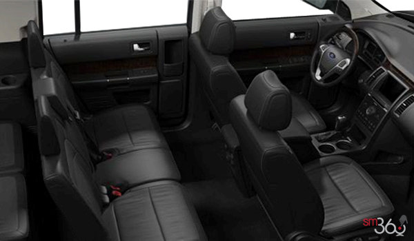 2018 Ford Flex LIMITED | Photo 1 | Charcoal Black Leather