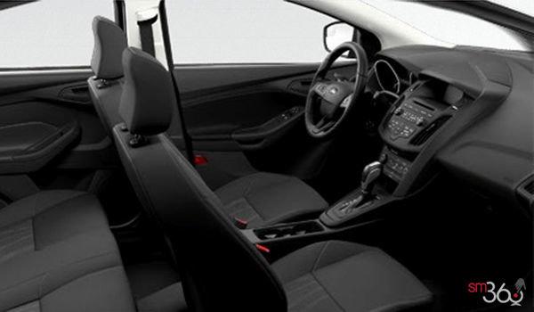 2018 Ford Focus Sedan S | Photo 1 | Charcoal Black Premium Cloth