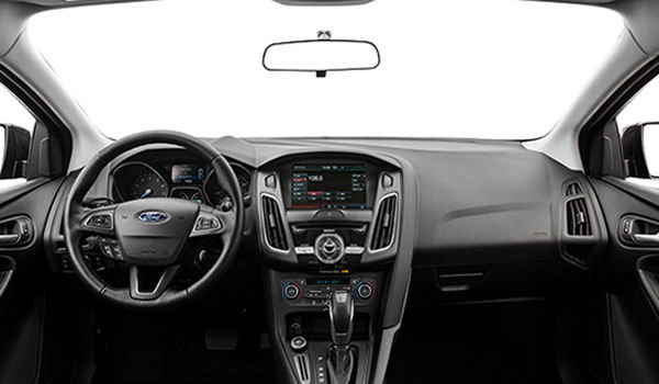 2018 Ford Focus Sedan SEL   Photo 3   Charcoal Black Premium Cloth