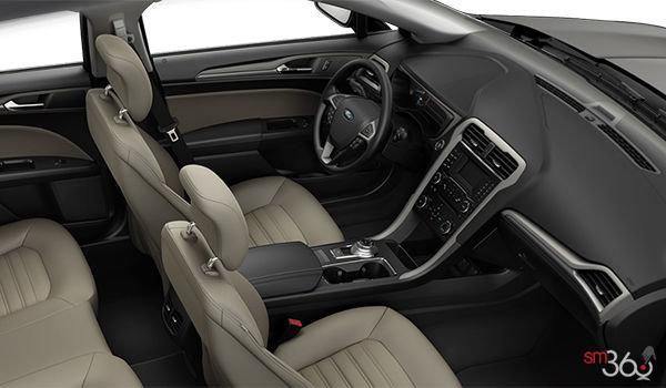 2018 Ford Fusion Hybrid S   Photo 1   Ebony Stone/ Medium Light Stone Cloth