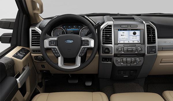 2018 Ford Super Duty F-250 LARIAT | Photo 3 | Camel Premium Leather Split Bench(6A)