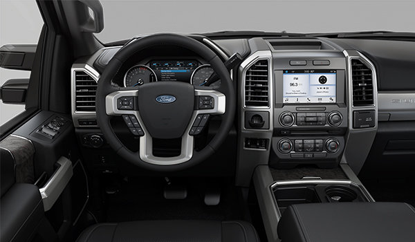 2018 Ford Super Duty F-250 LARIAT | Photo 3 | Black Premium Leather Captain's Chairs (5B)