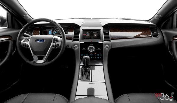 2018 Ford Taurus LIMITED | Photo 3 | Charcoal Black Leather (PW)