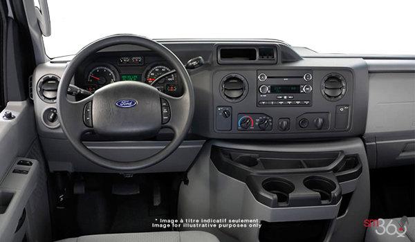 2018 Ford E-Series Cutaway 450 | Photo 3 | Medium Flint Cloth Captain's Chairs (ME)