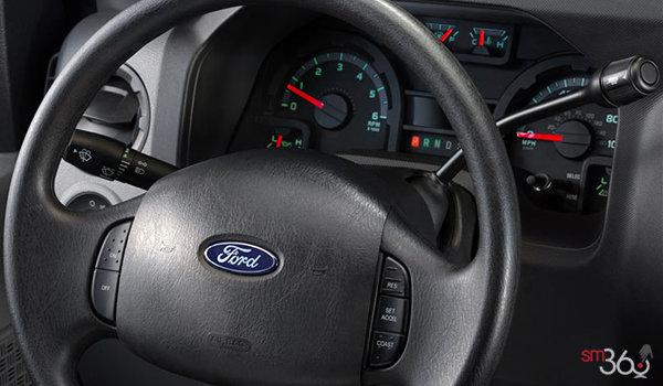 2018 Ford E-Series Cutaway 450 | Photo 2 | Medium Pebble Cloth Captain's Chairs (MW)