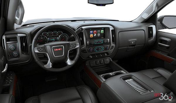 2018 GMC Sierra 3500HD SLT | Photo 3 | Jet Black Bucket seats Leather (H2U-AN3)