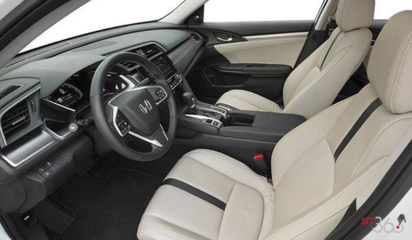2018 Honda Civic Sedan TOURING   Photo 1   Ivory Leather