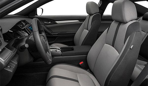 2018 Honda Civic Coupe LX   Photo 1   Grey Fabric
