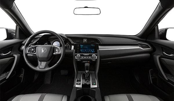 2018 Honda Civic Coupe LX   Photo 3   Grey Fabric