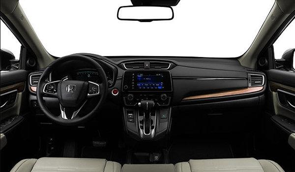2018 Honda CR-V TOURING   Photo 3   Ivory Perforated Leather