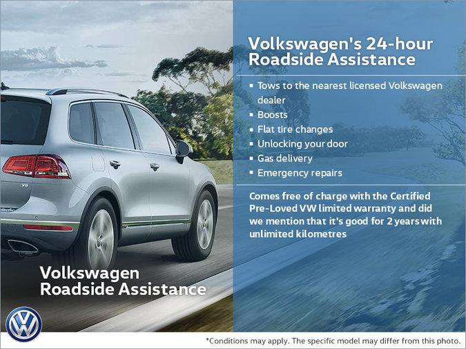 Volkswagen's 24-hour Roadside Assistance