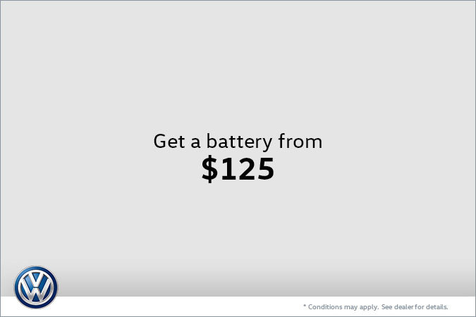 Get a Battery from $125