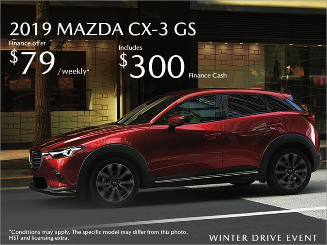 Half-Way Motors Mazda - Get the 2019 Mazda CX-3 Today!