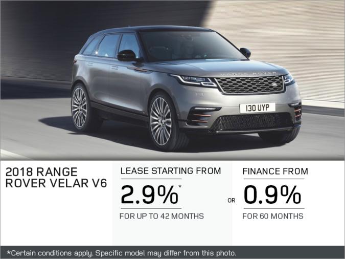 The 2018 Range Rover Velar V6