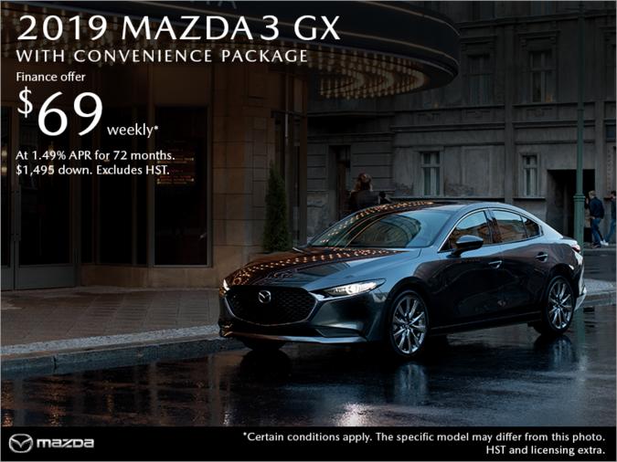 Half-Way Motors Mazda - Get the 2019 Mazda3 Today!