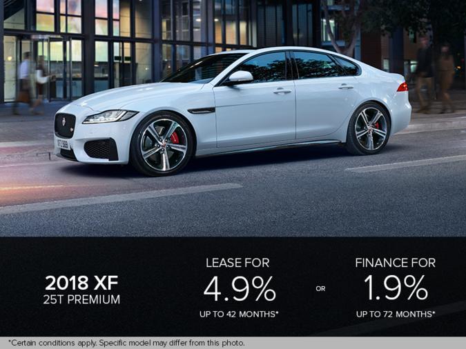 The 2018 XF Premium
