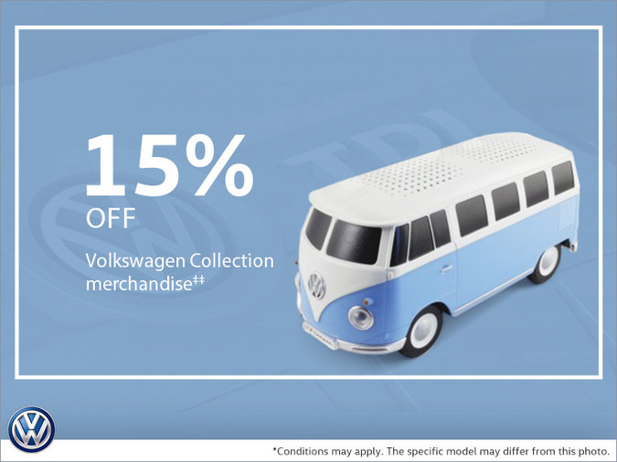 15% Off Volkswagen Collection merchandise | Valleyfield Volkswagen