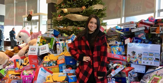 The biggest Cars R US Toy Drive yet!