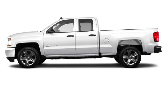 2016 Chevrolet Silverado 1500 CUSTOM | Photo 4 | Summit White