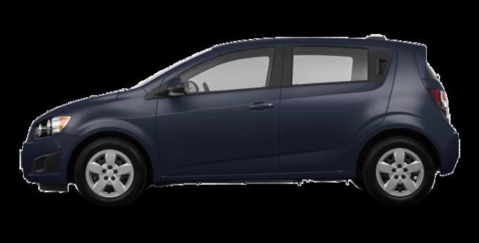 2016 Chevrolet Sonic Hatchback LS   Photo 4   Blue Velvet Metallic