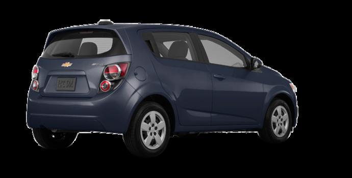 2016 Chevrolet Sonic Hatchback LS   Photo 5   Blue Velvet Metallic